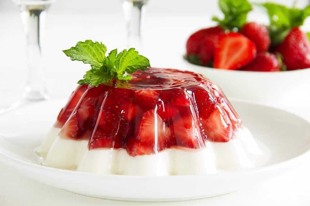 light cream with gelatin