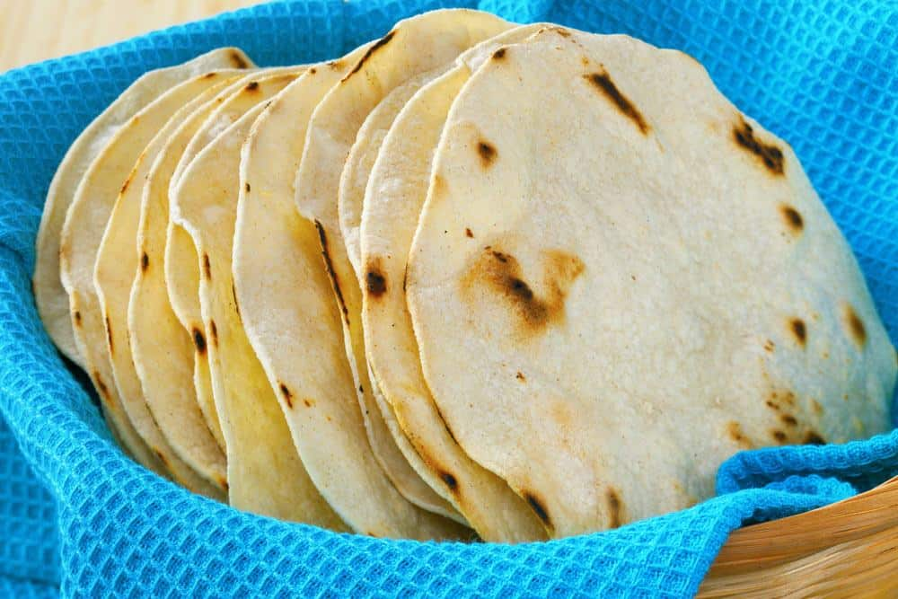Authentic Mexican Corn Tortillas