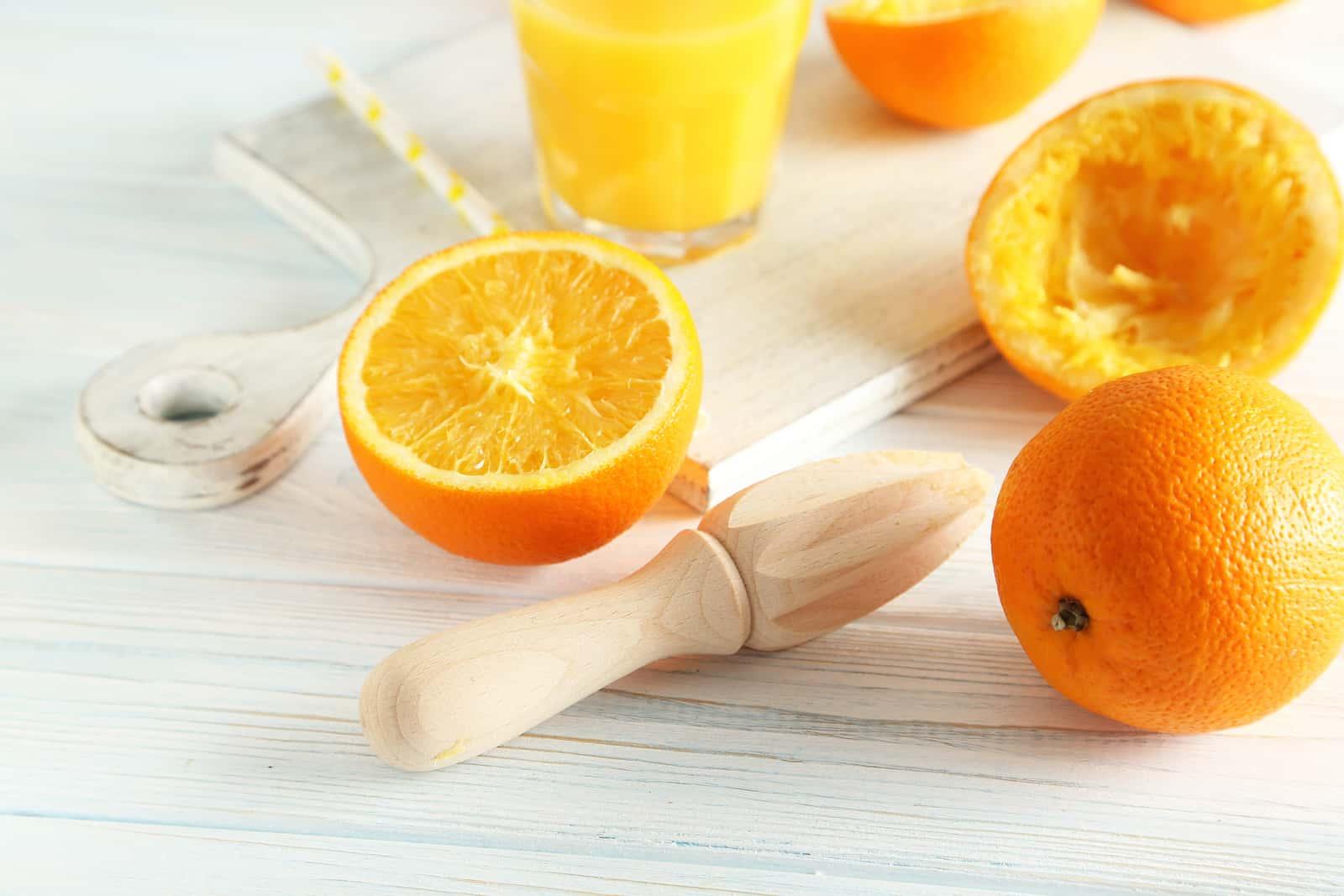 apple orange smoothie-citrus-Juicer