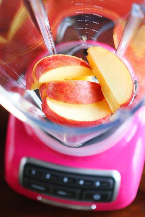 apple orange smoothie-step-1