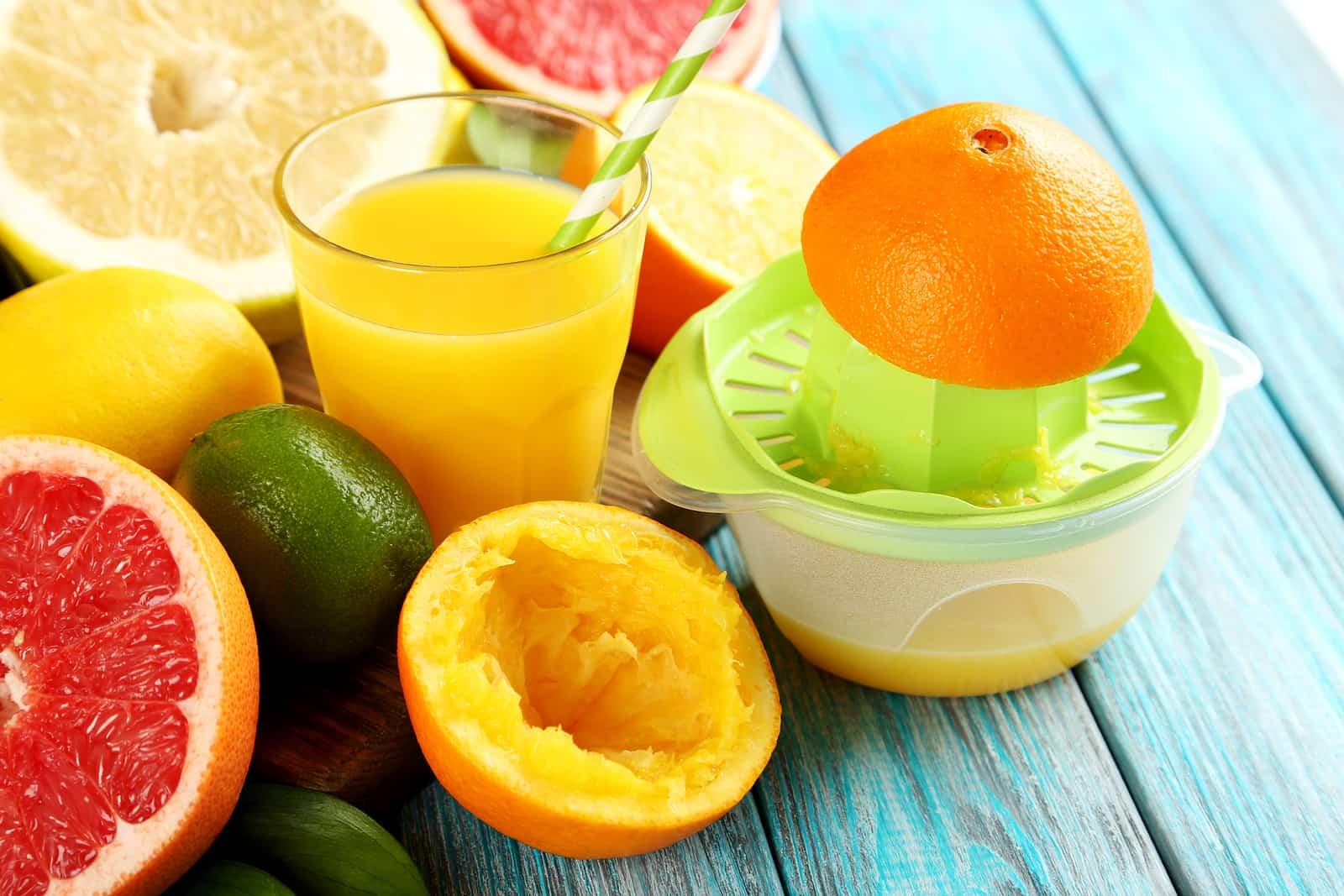 apple orange smoothie-step