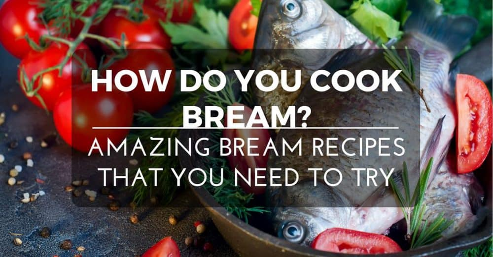 bream recipes cover