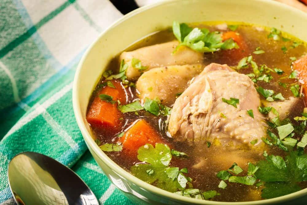 how to make caldo de pollo
