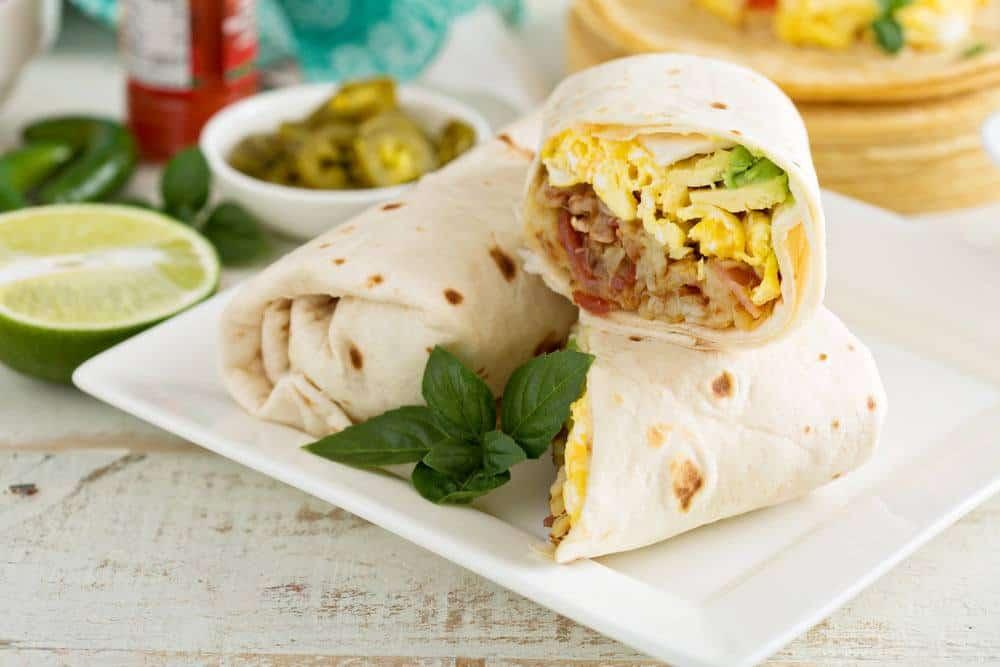 mexican breakfast burrito recipes